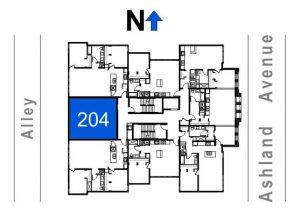 204- 1 Bedroom