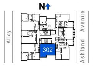 302- 1 Bedroom