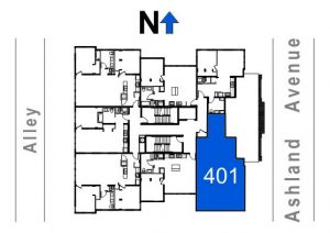 401- 2 Bedroom - 1 Bath