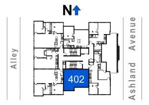 402- 1 Bedroom