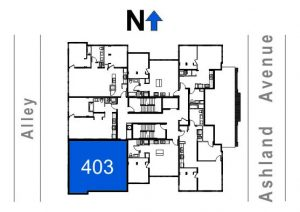 403- 2 Bedroom - 1 Bath