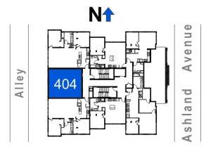 404- 1 Bedroom