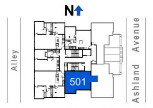 501- 1 Bedroom w/Terrace