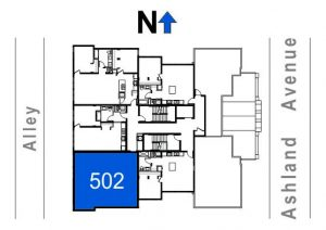 502- 2 Bedroom - 1 Bath
