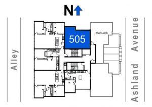 505- 1 Bedroom